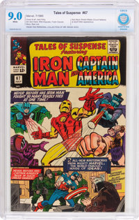 Tales of Suspense #67 (Marvel, 1965) CBCS VF/NM 9.0 White pages
