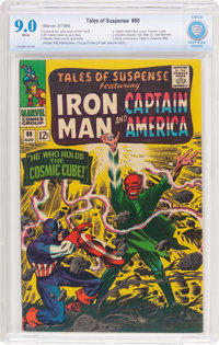 Tales of Suspense #80 (Marvel, 1966) CBCS VF/NM 9.0 White pages