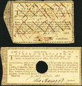 Colonial Notes:Virginia, Colonial American Fiscal Paper - Lot of 2 State of Maryland IssuedFiscal Forms.. ... (Total: 2 notes)