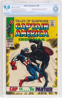 Tales of Suspense #98 (Marvel, 1968) CBCS VF/NM 9.0 White pages