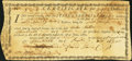 "Colonial Notes:Virginia, Colonial American Fiscal Paper - State of Pennsylvania Act of June1, 1780 ""...for provisions supplied the Army"" Anderson-Smyt..."