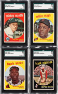 Baseball Cards:Sets, 1959 Topps Baseball Near Set (559/572). ...