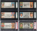 Baseball Cards:Lots, 1912 T202 Hassan Triple Folders Graded Group (6) - Most WithHoFers. ...