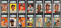 Baseball Cards:Lots, 1951 - 1956 Topps Baseball Shoe Box Collection (240+) With ManyStars. ...