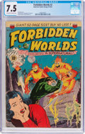 Golden Age (1938-1955):Science Fiction, Forbidden Worlds #2 (ACG, 1951) CGC VF- 7.5 Off-white to white pages....