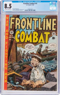 Golden Age (1938-1955):War, Frontline Combat #10 (EC, 1953) CGC VF+ 8.5 Off-white to whitepages....