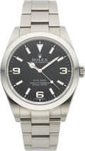 Timepieces:Wristwatch, Rolex Ref. 214270 Unused Steel Oyster Perpetual Explorer. ...