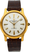 Timepieces:Wristwatch, Vacheron & Constantin Ref. 6378 Fine Gold Automatic, Original Box & Papers, circa 1958. ...