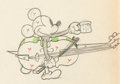 Animation Art:Production Drawing, Mickey's Good Deed Mickey Mouse Animation Drawing (WaltDisney, 1932). ...