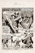 Original Comic Art:Panel Pages, Win Mortimer Zombie #1 Story Page 37 Original Art (Marvel,1974)....