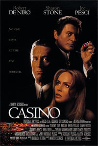 "Casino & Other Lot (Universal, 1995). One Sheets (2) (26.75"" X 39.75"" & 27"" X 40""). SS &..."