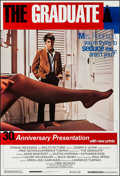 "Movie Posters:Comedy, The Graduate 30th Anniversary & Other Lot (Embassy, 1968). OneSheets (2) (27"" X 39.75"", 27"" X 39.75""). Comedy.. ... (Total: 2Items)"