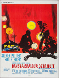 "In the Heat of the Night (United Artists, 1967). French Grande (47"" X 63""). Academy Award Winners"