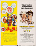"Movie Posters:Academy Award Winners, Oliver! & Other Lot (Columbia, 1969). Rolled, Very Fine-. Inserts (4) (14"" X 36""). Academy Awards Style, Howard Terpning Art... (Total: 4 Items)"