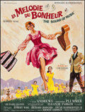 "Movie Posters:Academy Award Winners, The Sound of Music (20th Century Fox, 1966). French Grande (46"" X61""). Academy Award Winners.. ..."