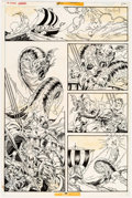 Original Comic Art:Panel Pages, P. Craig Russell Doctor Strange Annual #1 Page 26 OriginalArt (Marvel, 1976)....