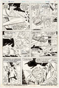Original Comic Art:Panel Pages, John Buscema and Joe Sinnott Fantastic Four #137 Page 6Original Art (Marvel, 1973)....