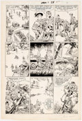 Original Comic Art:Panel Pages, Michael Golden and Armando Gil The 'Nam #1 Page 17 OriginalArt (Marvel, 1986)....