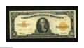 Large Size:Gold Certificates, Fr. 1173 $10 1922 Gold Certificate Fine-Very Fine. The colors on this note remain vibrant, but the bottom margin is tight....
