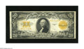 Large Size:Gold Certificates, Fr. 1187 $20 1922 Gold Certificate Very Fine. Sound edges and paper define this mid-grade $20 Gold....