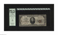 National Bank Notes:Montana, Kalispell, MT - $20 1929 Ty. 1 The Conrad NB Ch. # 4803. This was a privately named bank managed by L. Tansel and C.D. C...