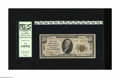 """National Bank Notes:Pennsylvania, Johnstown, PA - $10 1929 Ty. 2 United States NB Ch. # 13781. This was the final """"forbidden title"""" national bank organize..."""