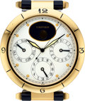 Timepieces:Clocks, Cartier Ref. 8913 Pendulette Pasha Desk Clock. ...