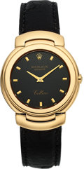 Timepieces:Wristwatch, Rolex Cellini Ref. 6622 Gent's Gold Wristwatch, circa 1990's. ...