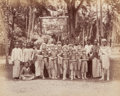 Photographs, Unknown Artist (19th Century). Untitled (Ceylonese children's play), circa 1870s. Albumen. 8-1/4 x 10-1/4 inches (21.0 x...