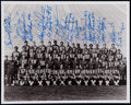 Football Collectibles:Photos, 1972 Green Bay Packers Team Signed Photograph (18 Signatures)....