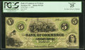 Obsoletes By State:North Carolina, Newbern, NC- Bank of Commerce $5 Dec. 1, 1859. ...