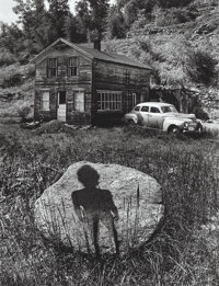 Jerry Uelsmann (American, b. 1934) Enigmatic Figure, Forgotten Heritage, and Untitled, 1959;