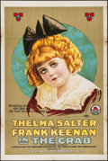 "Movie Posters:Drama, The Crab (Triangle, 1917). One Sheet (28"" X 42""). Drama.. ..."
