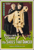 """Movie Posters:Drama, The Shoes That Danced (Triangle, 1918). One Sheet (27.5"""" X 41"""").Drama.. ..."""