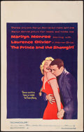 """Movie Posters:Romance, The Prince and the Showgirl (Warner Brothers, 1957). Window Card (14"""" X 22""""). Romance.. ..."""