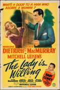 """Movie Posters:Comedy, The Lady is Willing (Columbia, 1942). One Sheet (27"""" X 41""""). Comedy.. ..."""