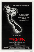 "Movie Posters:Horror, The Omen & Other Lot (20th Century Fox, 1976). Folded, Very Fine. One Sheets (2) (27"" X 41"") Style F, & Lobby Card Set of 8 ... (Total: 10 Items)"