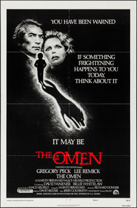 """The Omen & Other Lot (20th Century Fox, 1976). Folded, Very Fine. One Sheets (2) (27"""" X 41"""") Style F, &..."""