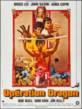 """Movie Posters:Action, Enter the Dragon & Other Lot (Warner Brothers, 1974). FrenchGrande (47"""" X 63"""") & French Moyenne (23.5"""" X 31.25""""). Action..... (Total: 2 Items)"""