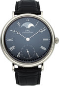 Timepieces:Wristwatch, IWC Steel Ref. 5448 Portofino Moonphase Vintage Collection. ...