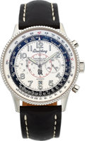 Timepieces:Wristwatch, Breitling Rare Rolls-Royce Limited Edition Montbrillant 1903Chronograph Made For National Aviation Hall Of Fame EnshrineeRec...