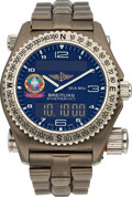 Timepieces:Wristwatch, Breitling Titanium 1884 Orbiter 3 Emergency Ref. E56321. ...