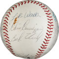 Autographs:Baseballs, 1968 Pittsburgh Pirates Team Signed Baseball. ...