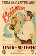 "Movie Posters:Romance, To Have and Have Not (Warner Brothers, 1944). Argentinean Poster(29"" X 43"").. ..."