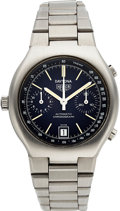 Timepieces:Wristwatch, Heuer Daytona Ref. 110.203 B, Steel Automatic Chronograph, Box& Papers, circa 1977. ...