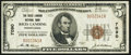 National Bank Notes:Pennsylvania, Rices Landing, PA - $5 1929 Ty. 1 The Rices Landing NB Ch. # 7090. ...