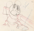 Animation Art:Production Drawing, Mickey's Parrot Mickey Mouse Animation Drawing (Walt Disney,1938)....