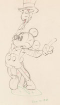 Animation Art:Production Drawing, Mickey's Circus Mickey Mouse Animation Drawing (Walt Disney,1936). ...