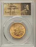 Indian Eagles: , 1915 $10 MS62 PCGS. PCGS Population: (1473/1005). NGC Census: (1280/873). MS62. Mintage 351,075. ...