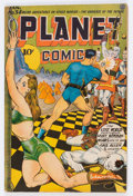Golden Age (1938-1955):Science Fiction, Planet Comics #34 (Fiction House, 1945) Condition: VG....